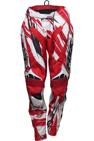 VINTAGE FOX MOTORCROSS PANT (RED + BLK + WHT)