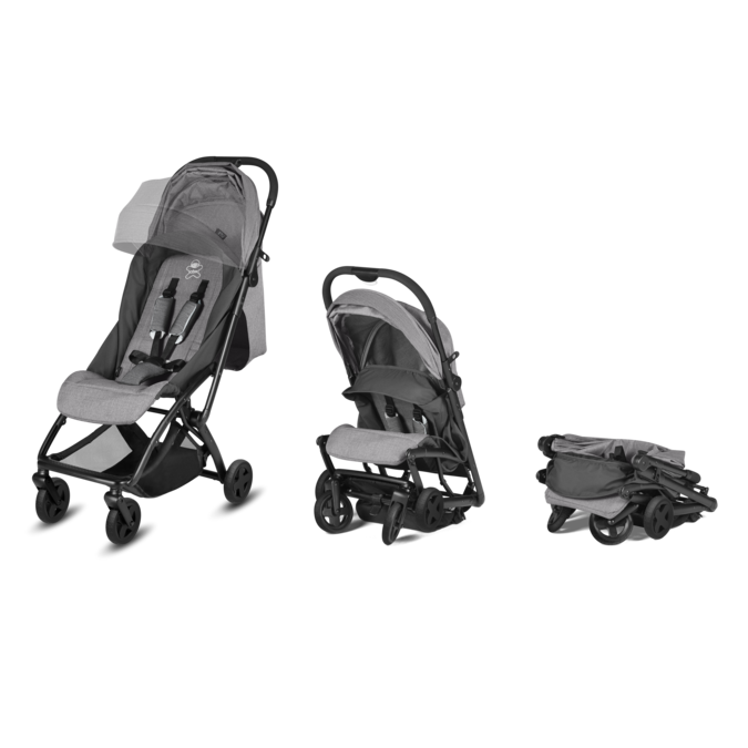 cbx Etu Compact Stroller with Carrying Bag - Comfy Grey
