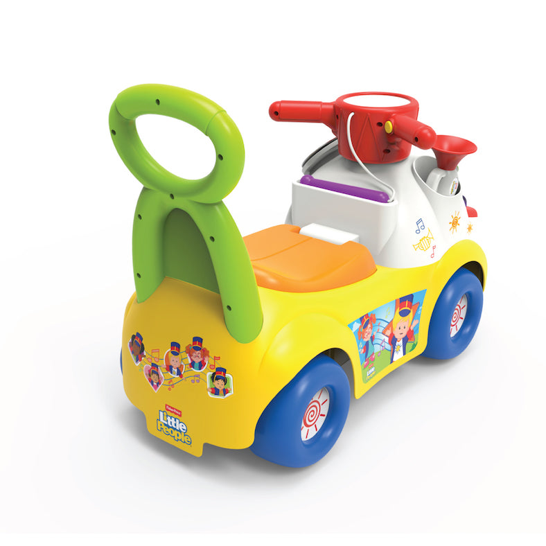 Fisher-Price L ittle People Music Parade Ride On - White