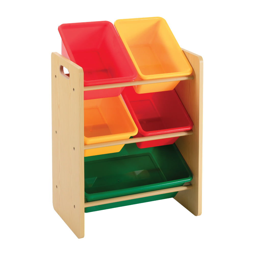 Baby Star x Delsun 5 Toy Storage Organizer - Rainbow