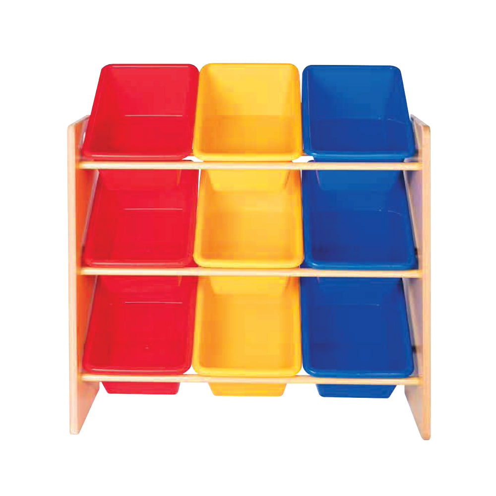 Baby Star x Delsun 9 Toy Storage Organizer - Rainbow