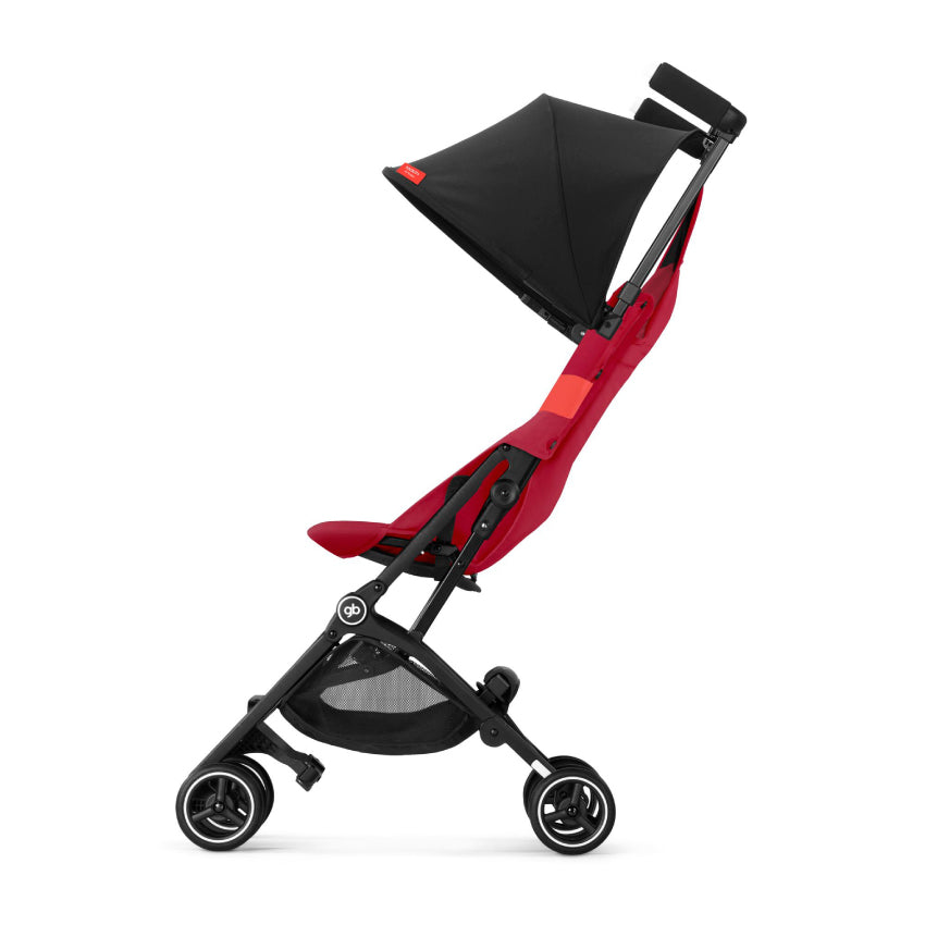 gb Gold Pockit+ Stroller with Carrying Bag and Strap - Rose Red