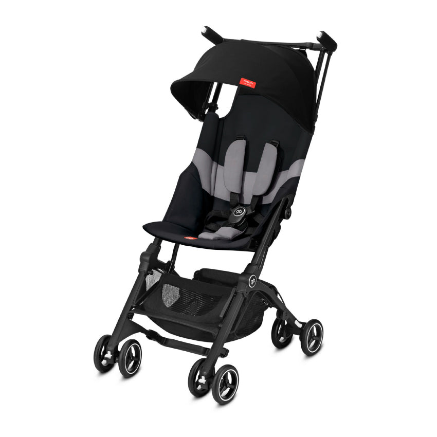 gb Gold Pockit+ Stroller with Carrying Bag and Strap - Velvet Black