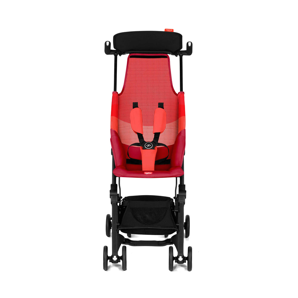 gb Gold Pockit Air Stroller with Carrying Bag - Rose Red
