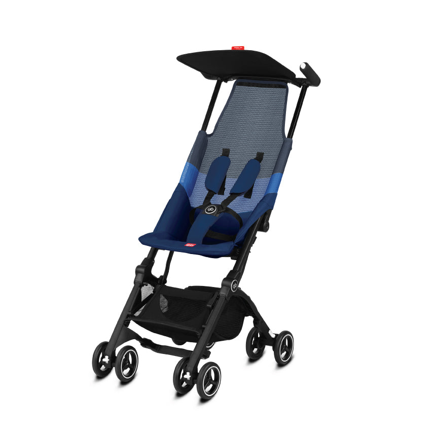gb Gold Pockit Air Stroller with Carrying Bag and Strap - Night Blue