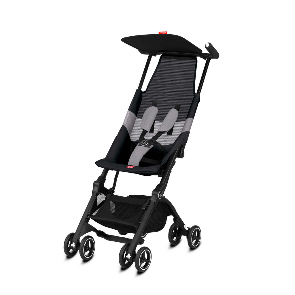 gb Gold Pockit Air Stroller with Carrying Bag - Velvet Black