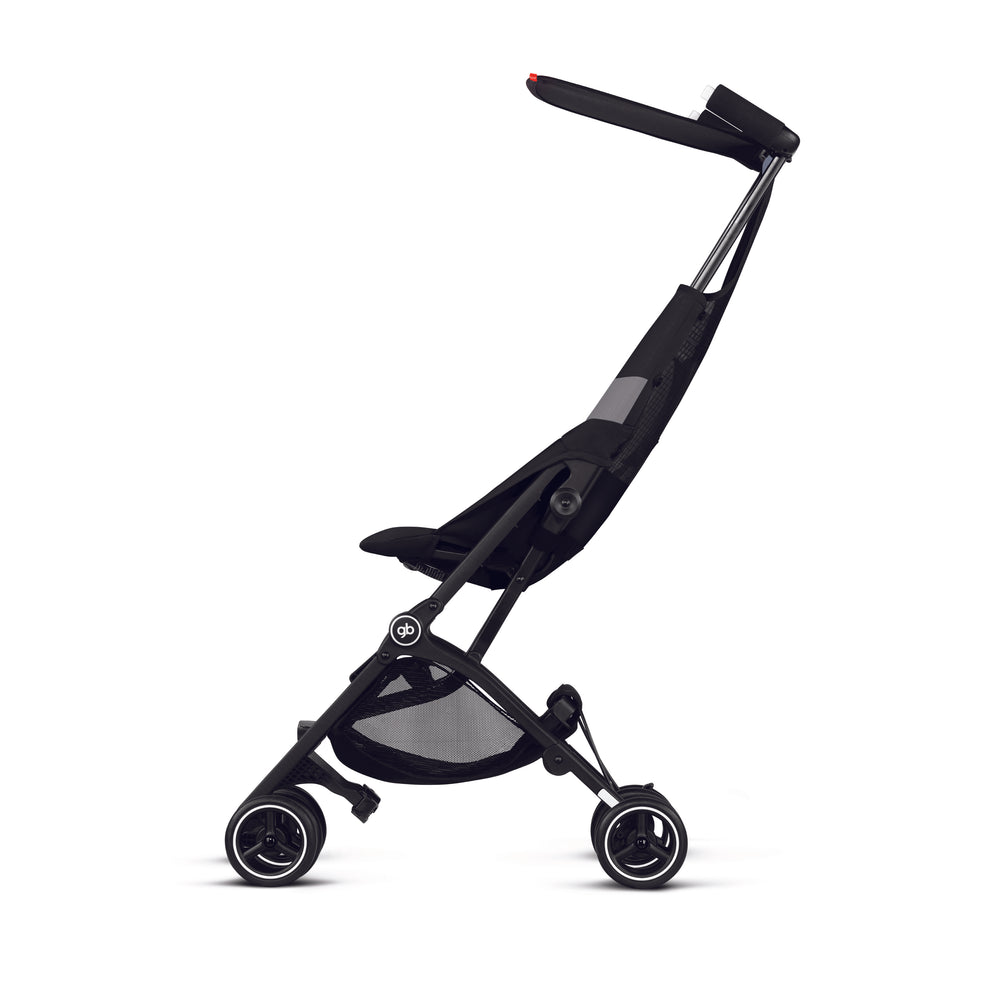 gb Gold Pockit Air Stroller with Carrying Bag and Strap - Velvet Black