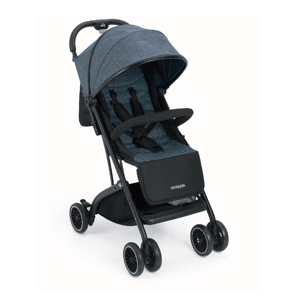 CAM Compass Compact Stroller - Denim Blue
