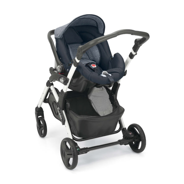 CAM Fluido Allegria Reversible Stroller - Denim Blue