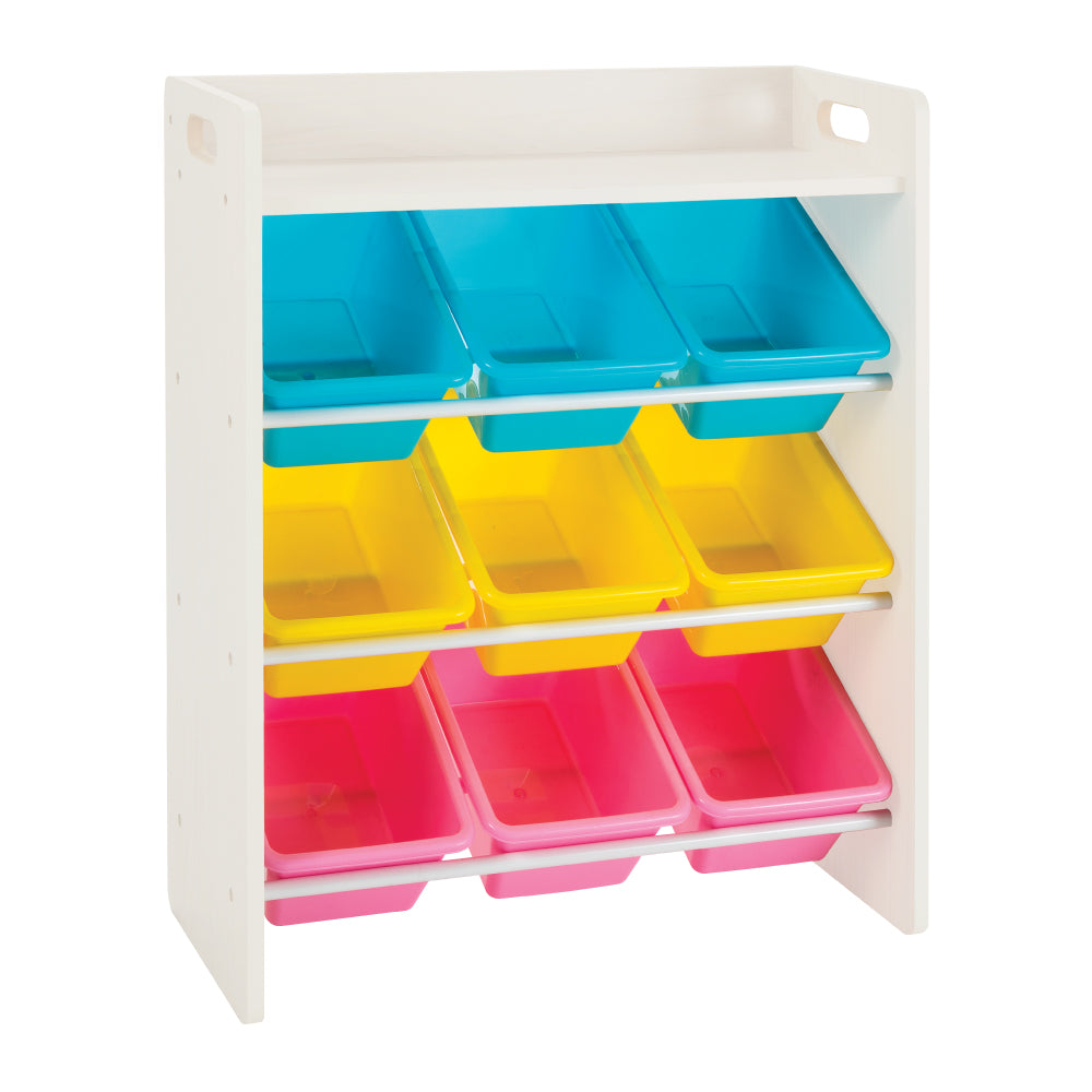 Baby Star x Delsun 9 Toy Storage Organizer with Shelf - Macaron