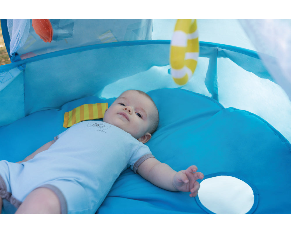 Babymoov Aquani 3-in-1 UV Tent + Play Area + Paddling Pool