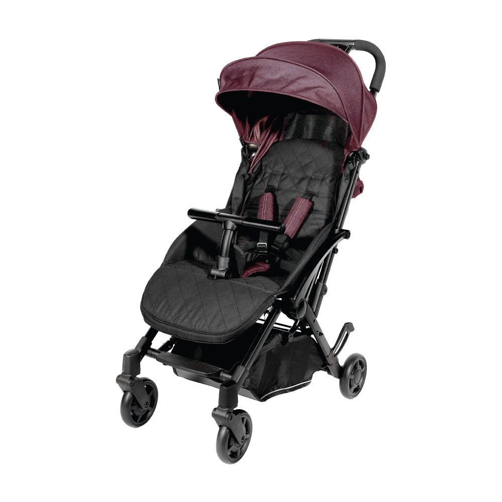 Baby Star Tavo R+ Baby Stroller with Carrying Bag - Violet