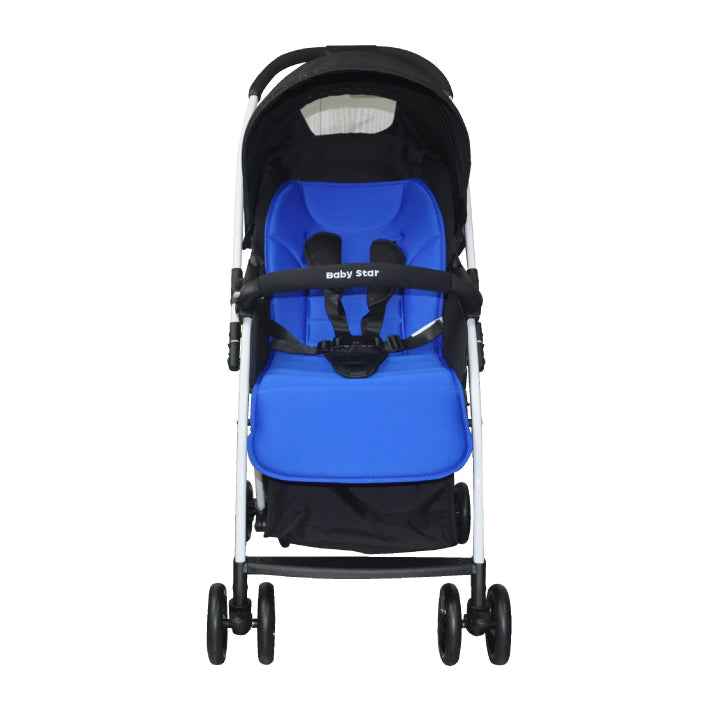 Baby Star Light-weight Reversible Stroller - Blue