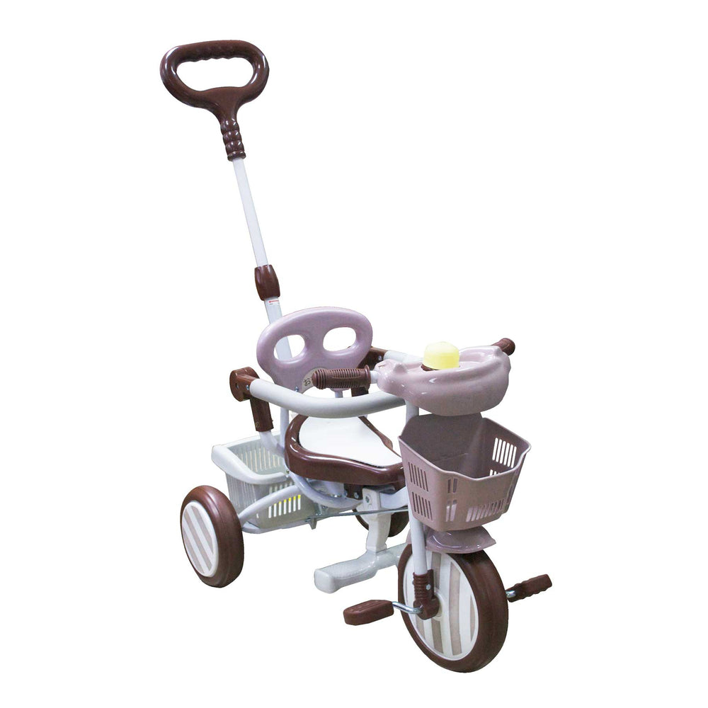 Baby Star Tricycle with Push Bar & Guard