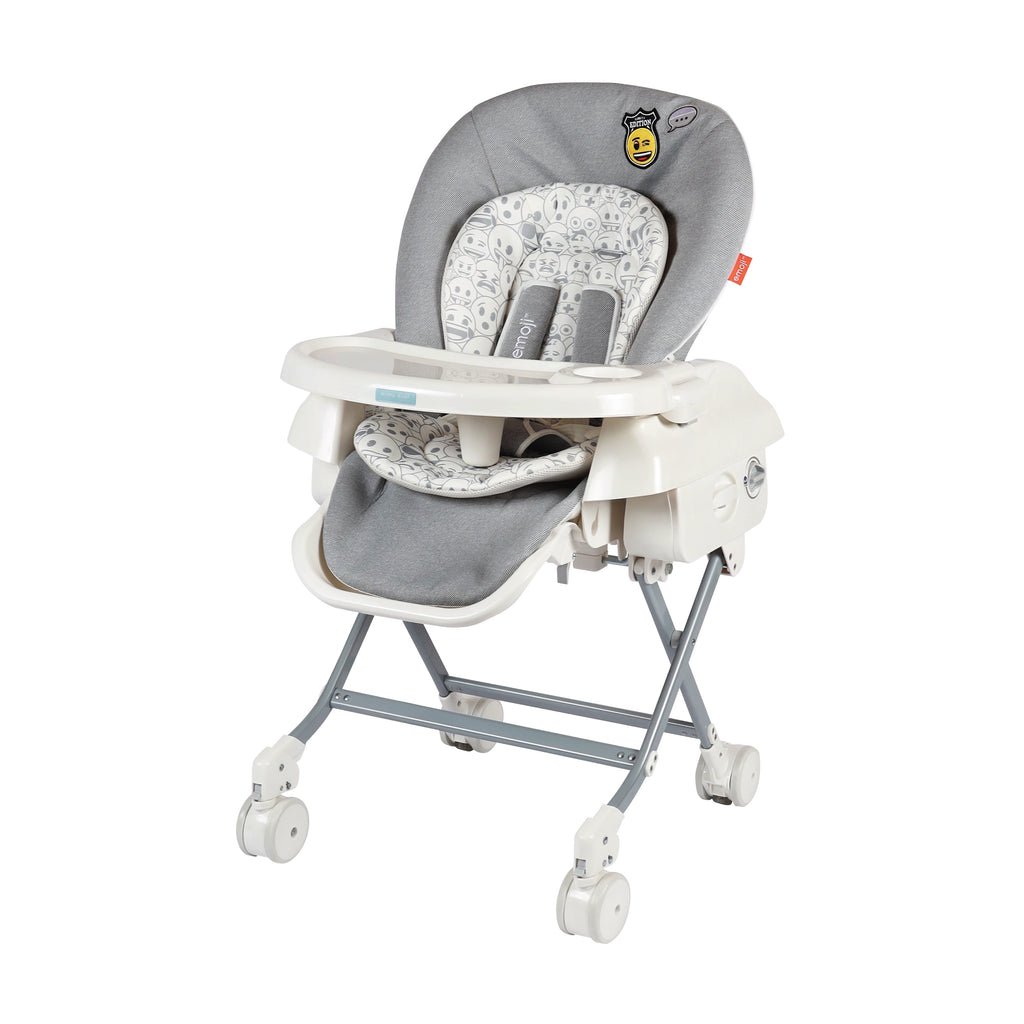 Baby Star x Emoji Hi-Lo Swing Highchair