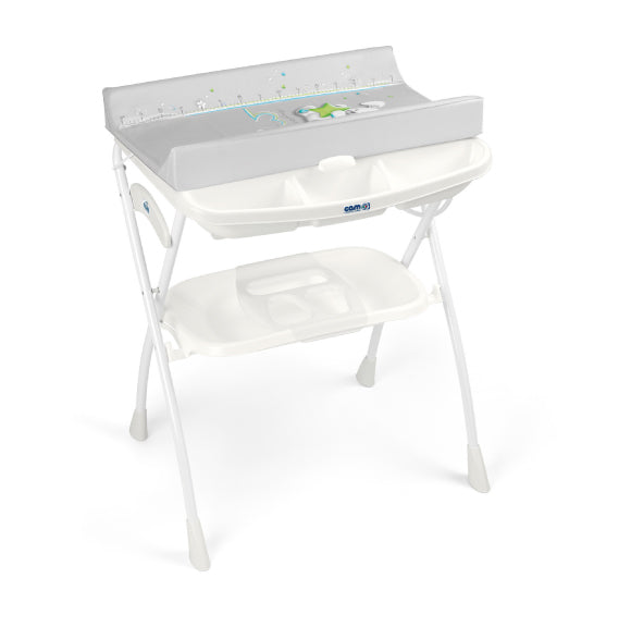 CAM Volare Foldable Changing Unit - White/Rabbit