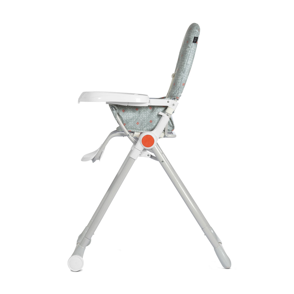 cbx Elsu Compact High Chair - Snowy White