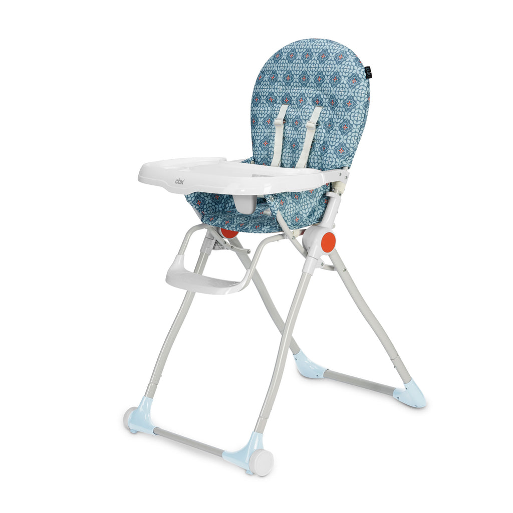 cbx Elsu Compact High Chair - Sleepy Blue