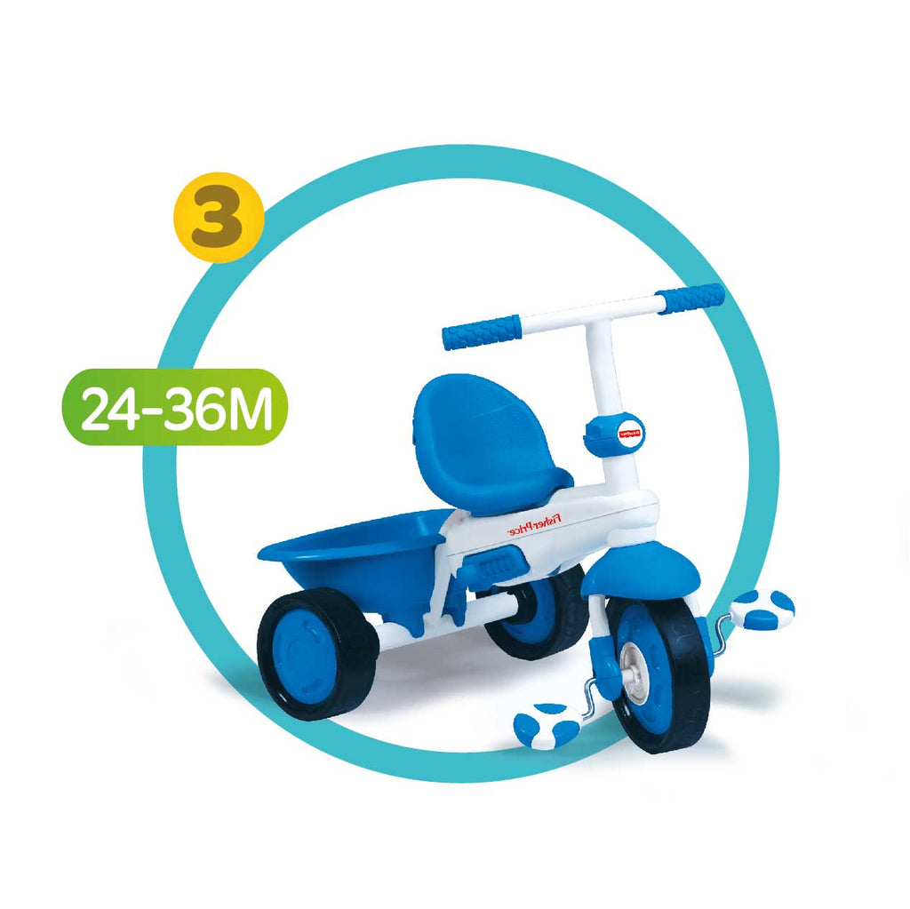 Fisher-Price Elite 3 in 1 Trike - Blue