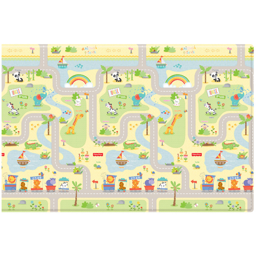 Fisher-Price Baby Play Mat - Smile Road+Flying