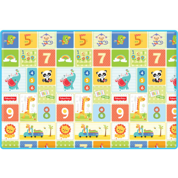 Fisher-Price Wellbeing Play Mat - 1,2,3