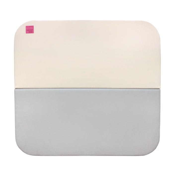 Haenim Toy Signature Folder Mat - Grey + Beige