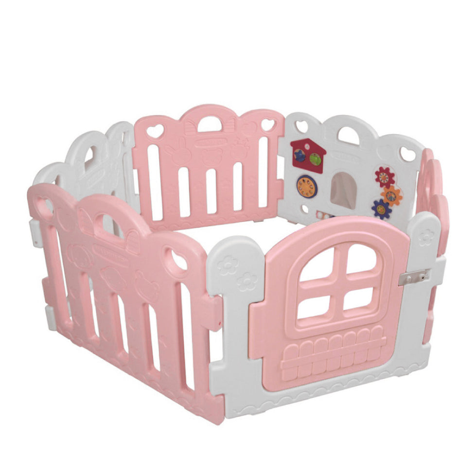 Haenim Toy Petit Baby Room - Pink + White