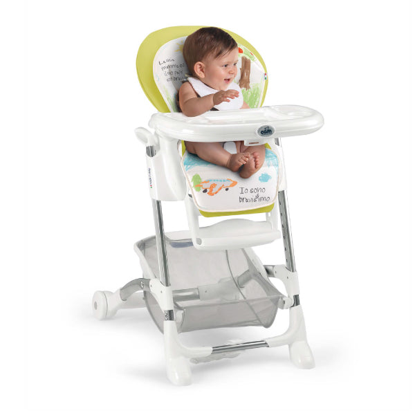 CAM Istante High Chair - Green/House