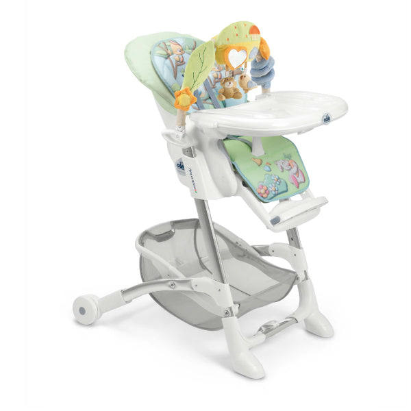 CAM Istante High Chair - Mint/Owl