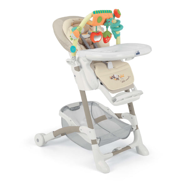 CAM Istante High Chair - Beige/Bear