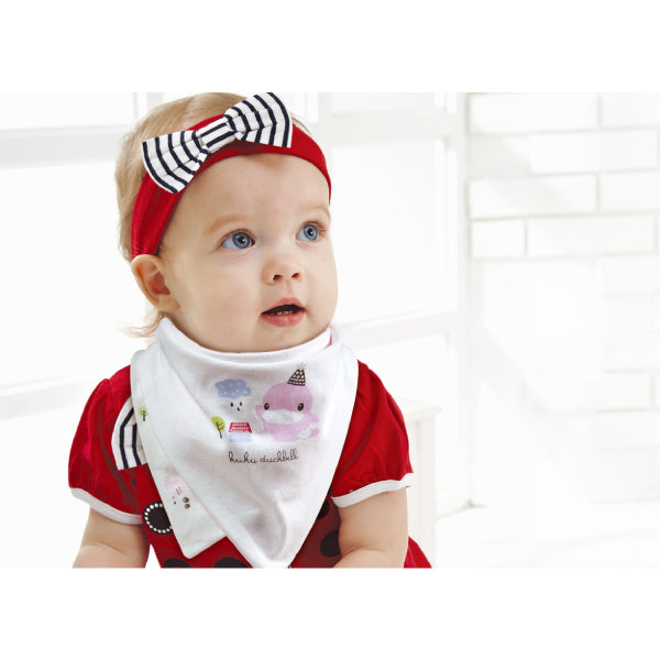 KUKU Reversible Bandana Bibs - Birthday Hat