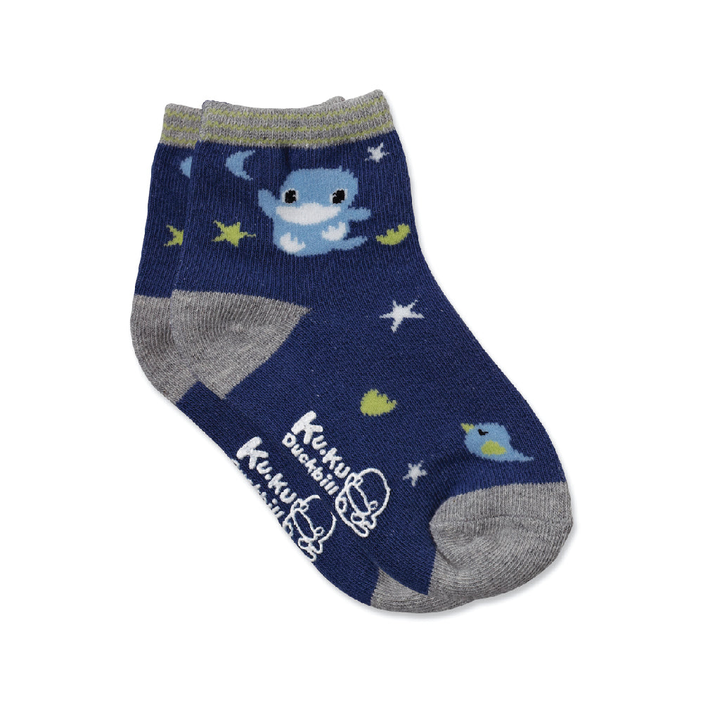 KUKU Skid-Proof Stars Socks - 1 Pair