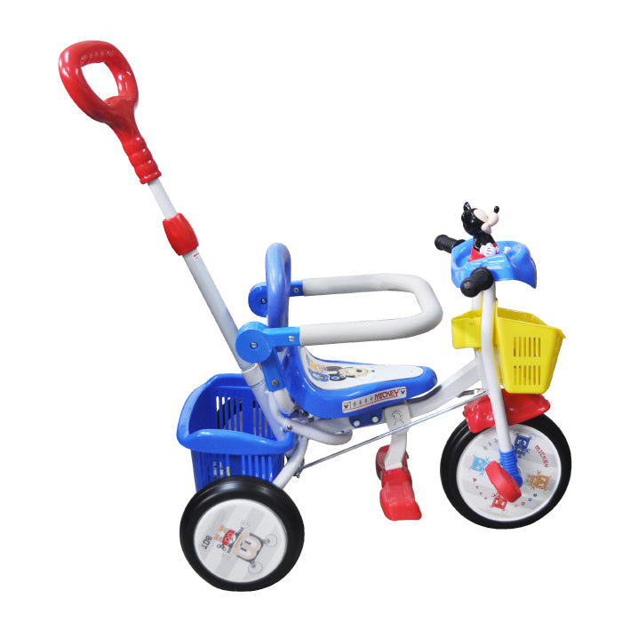 Baby Star x Mickey Mouse Tricycle with Push Bar & Guard
