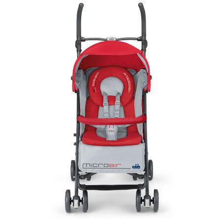 CAM Microair Baby Stroller - Red