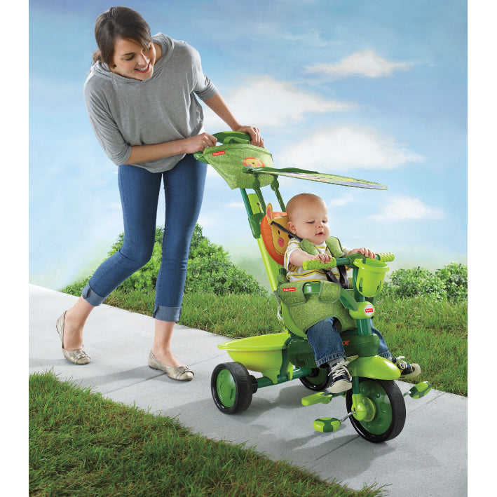 Fisher Price Royal 3 in 1 Trike - Lion / Green