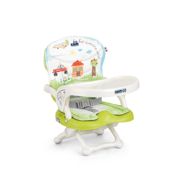 CAM Smarty Pop Booster - Green/House