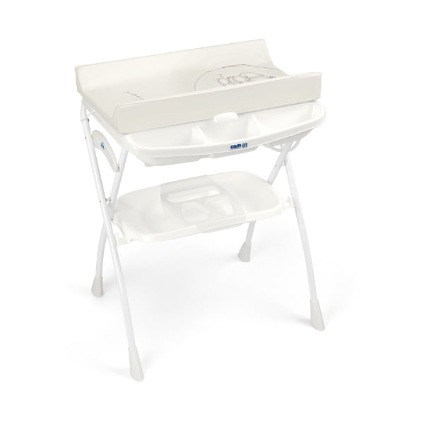 Cam Volare Foldable Changing Unit - White/Caring Bear