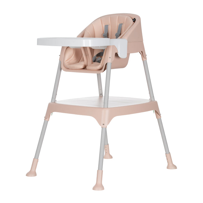 Evenflo Trilo 3-in-1 Eat & Grow™ Convertible High Chair - Misty Pink