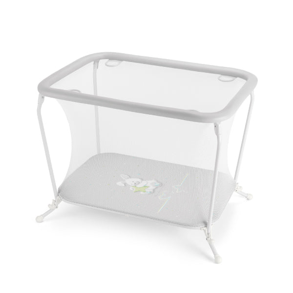 CAM Lusso Playpen - Grey/Rabbit
