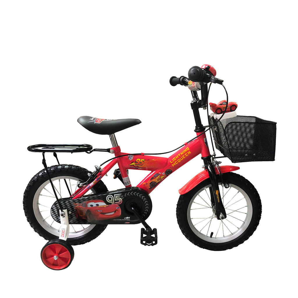 "Baby Star X Cars 14"" Air Tyre Bike"