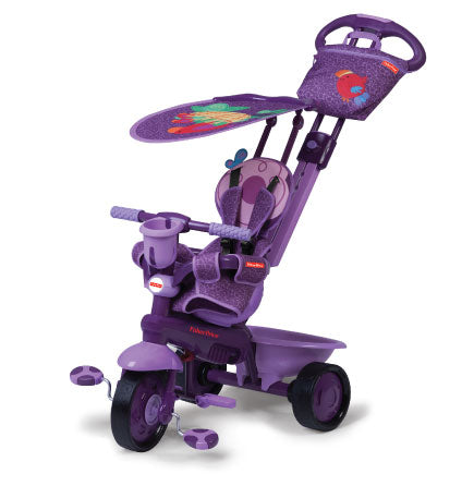 Fisher-Price Royal 3 in 1 Trike - Brid / Purple