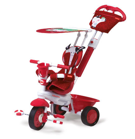 Fisher-Price Royal 3 in 1 Trike - Cow / Red
