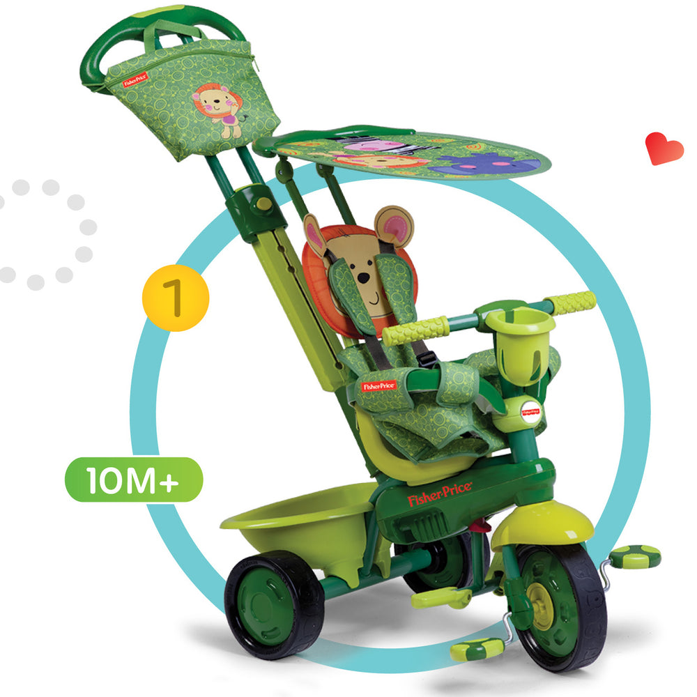 Fisher-Price Royal 3 in 1 Trike - Lion / Green