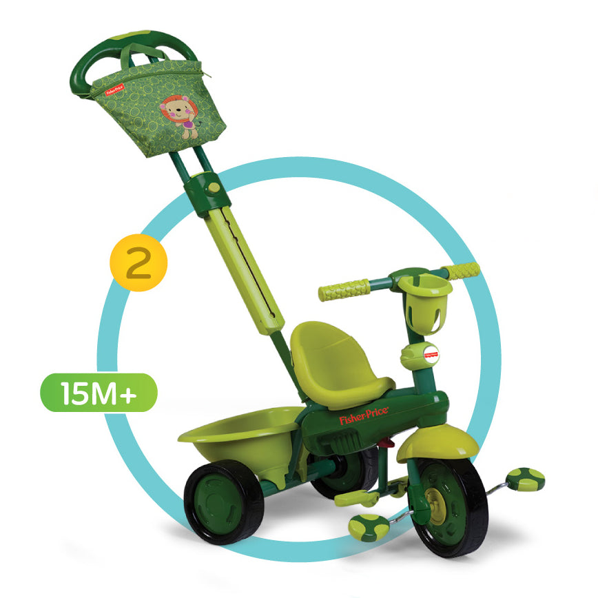 Fisher-Price Royal 3-in-1 Trike - Lion/Green