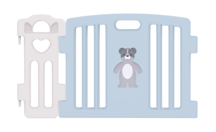 Haenim Toy Signature Baby Room and Play Mat Set - Pastel Blue