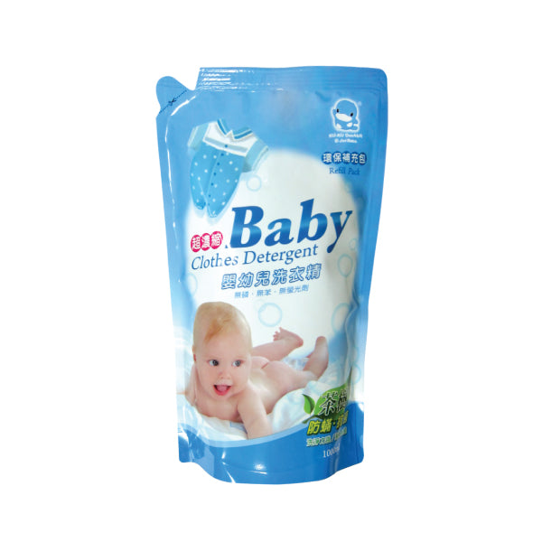 KUKU Baby Clothing Detergent Refill Pack - 1000ml