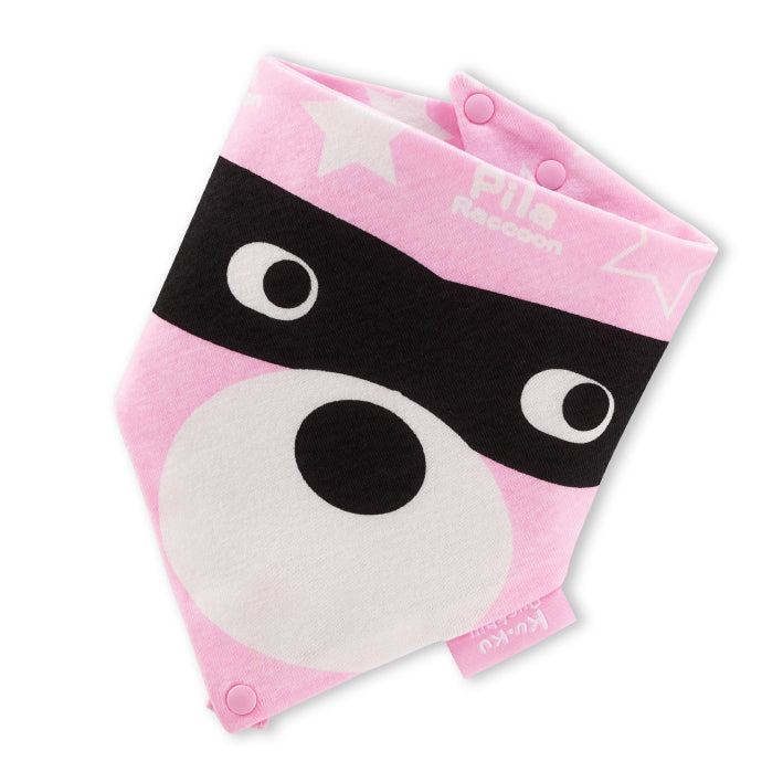 KUKU Pacifier Bandana Bib - Playful Twin