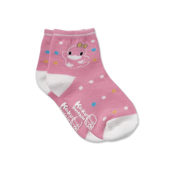 KUKU Polka Dots Skid-Proof Socks - 1 Pair