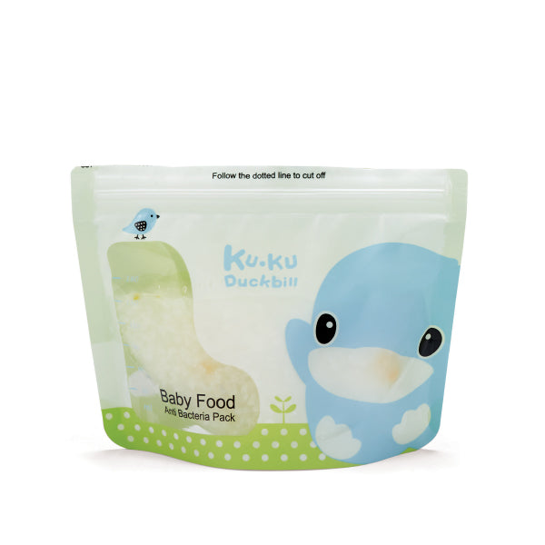 KUKU Baby Food Anti Bacteria Pack 180ml - 25pcs