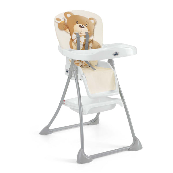 CAM Mini Plus High Chair - Bear